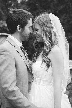 wedding hair. love