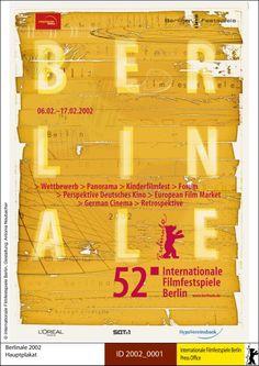 2002. Film Festival Poster, Berlin Film Festival, Education Architecture, Architecture Art, Cinema, Travel Humor, Press Photo, International Film Festival, Animal Design