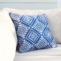 Found it at Wayfair - Mila Shakami Denim Outdoor Throw Pillow