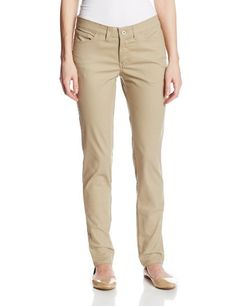 New Trending Pants: Dickies Womens 5-Pocket Slim Skinny Stretch Twill Pant, Desert Sand, 12 Regular. Dickies Women's 5-Pocket Slim Skinny Stretch Twill Pant, Desert Sand, 12 Regular  Special Offer: $24.99  444 Reviews Midrise spandex stretch 5-pocket pant in a seven ounce twill fabric fits slim through the seat and thigh, then skinny through the leg and opening. Contour...