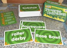 The Original Reverse Charades Game Review and Giveaway