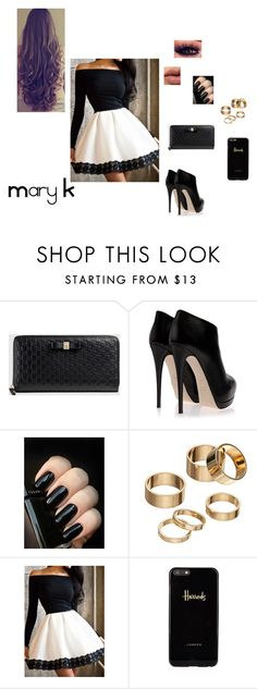 """""""#17 ♥"""" by mary-pop ❤ liked on Polyvore featuring Gucci, Giuseppe Zanotti, Apt. 9, Bobbi Brown Cosmetics and Harrods"""