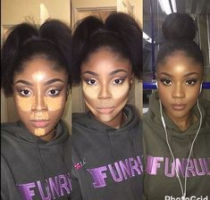 eye makeup tips Black Girl Makeup, Girls Makeup, Love Makeup, Beauty Makeup, Makeup Looks, Makeup Case, Maquillage Yeux Cut Crease, Maquillage Black, Contour Makeup