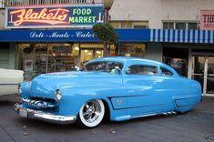 1951 Chopped Top Mercury Custom  Hot Rod