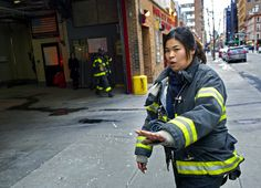 Whoa there. Women firefighters in NYC!  #FilmHerStory #WriteHerStory