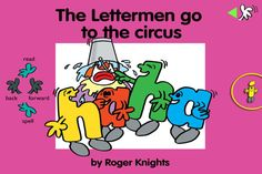The Lettermen series was originally conceived by Roger Knights in 1985 as a simple way of putting fun into learning to read. It was never intended to be an educational system or a challenge to any established teaching methods, but both parents and teachers have found that the simple Lettermen stories are useful in showing children how letters form words and