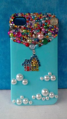 READY TO SHIP Disney's Up Decoden IPhone 4 Case by MagPieMakesIt
