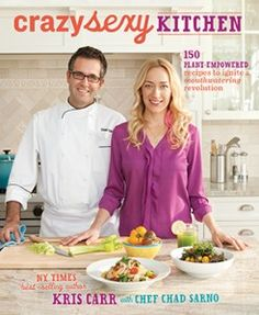 Crazy Sexy Kitchen cookbook by New York Times best-selling author @Kris Carr