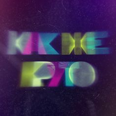 Glow by Michael Schettler, via Behance