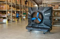 Port-A-Cool EcoCooling: Best Practice Working Safely Heat Stress Industry