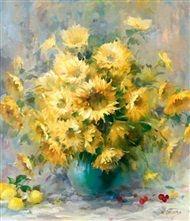 Willem  Haenraets - Floral nature IV