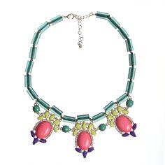 72 USD Fab.com | Taylor Necklace Green