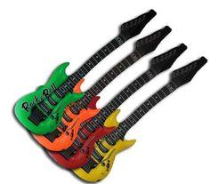 Gitarre - aufblasbar- ca 100 cm