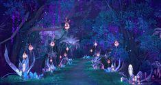 New fantasy landscape forests fairytale Ideas Fantasy Forest, New Fantasy, Fantasy World, Anime Gifs, Anime Art, Fantasy Landscape, Landscape Art, Aesthetic Art, Aesthetic Anime