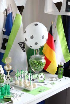 Fussball Geburtstag - Borussia Mönchengladbach | tolle Idee für deinen nächsten Kindergeburtstag