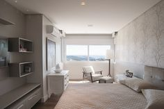 quarto neutro e clássico - room by S.C.A.