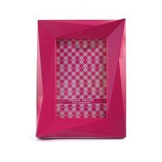 Porta Retrato Geométrico Pink