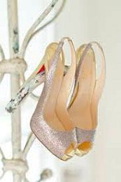 Christian Louboutin- a great pair of shoes can keep you grounded and lift your sole!