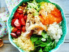 Our popular recipe for power bowl with couscous and more than other free recipes on LECKER. Our popular recipe for power bowl with couscous and more than other free recipes on LECKER. Mexican Dinner Recipes, Healthy Dinner Recipes, Summer Recipes, Power Bowl, Healthy Eating Tips, Clean Eating, Popular Recipes, Free Recipes, Healthy Recipes