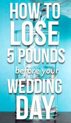 With some healthy changes, you can make sure you look and feel your best when you say I do.
