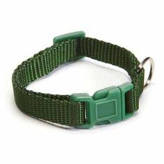 Nylon Dog Collar by Zack and Zoey - Hunter Green
