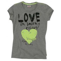 Vingino - T-shirt Hildemar grijs