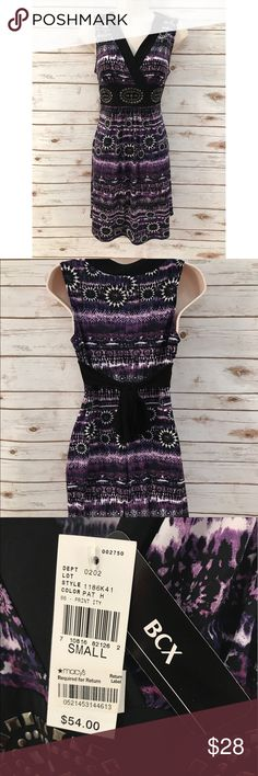 🎉NWT🎉 BCX Purple Printed Midi Dress • offers are always welcome!💞  • no holes, stains, or flaws.🙌🏾  • excellent condition. BCX Dresses Midi