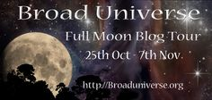 I'm participating in the Broad Universe Full Moon Blog Tour this month. Broad Universe is an awesome group dedicated encouraging women and science fiction--two of my favorite things. LOL! Make sure you sign up for the giveaway below (winners to be announced November 10th). http://www.aideeladnier.com/2015/10/the-coming-of-full-moon.html