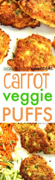 Carrot veggie puff recipe for kids