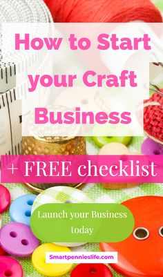 How about a free planner for starting a craft business? Free Printable Business Startup Checklist for Launching Your Creative business today. Craft Business, Start Up Business, Creative Business, Business Ideas, Business Names, Etsy Business, Business Help, Business Quotes, Business Logo