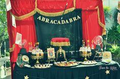 Vintage Magician Themed 8th Birthday Party via Kara's Party Ideas KarasPartyIdeas.com #magic #magicianparty #vintagemagician #harryhoudini #magicpartyideas #magicsupplies (31)