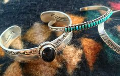 A personal favorite from my Etsy shop https://www.etsy.com/listing/453900972/american-indian-bracelet-silver-and