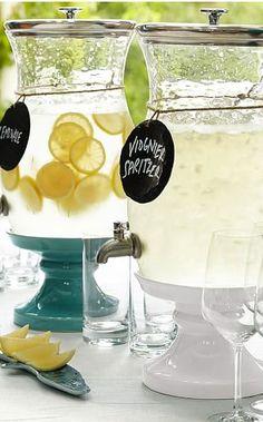 Cute drink dispensers!