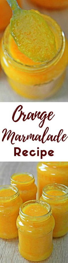 ORANGE LEMON MARMALADE - This yummy-in-my-tummy orange lemon marmalade is so easy to make and works great on toast for breakfast, in cookies at summer or as a sauce or glaze for meat recipes such as chicken!  #orange #lemon #sauce #recipe #recipeoftheday #recipeideas #recipeoftheweek #dessert #dessertrecipes #desserts