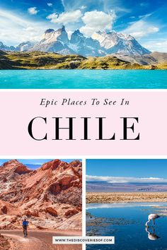 12 Incredible Places to Visit in Chile: Chile Travel Inspiration Brazil Travel, Costa Rica Travel, Peru Travel, Solo Travel, Travel Tips, Travel Advice, Travel Usa, South America Travel, North America