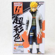 RARE! Naruto Minato Figure High Spec Coloring Banpresto HSCF JAPAN ANIME MANGA