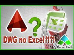 AutoCAD 2014 - Desenho *.dwg no Excel?!?!