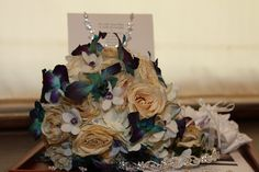 Heather's Preserved Bridal Bouquet