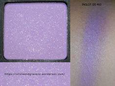 INGLOT Eyeshadow DS 493 #crueltyfree #eyeshadow #purple