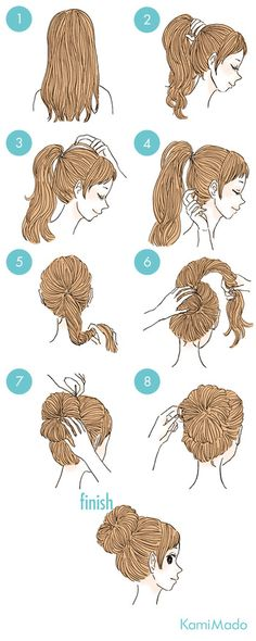 Kids Braided Hairstyles, Step By Step Hairstyles, Fancy Hairstyles, Hair Due, Prom Hair, Hair Hacks, Hair And Nails, Hair Inspiration, Curly Hair Styles