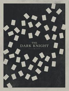 The Dark Knight minimalist poster