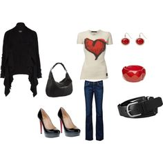 Heart, created by kari-clark-dlxii.polyvore.com