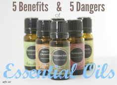Essential oils are both dangerous & beneficial. Use them wisely