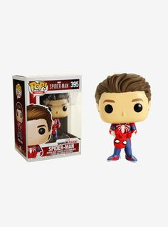presents a stylized vinyl collectible bobble-head of Spider-Man unmasked from the Marvel GamerVerse. Games 395 3 Vinyl Imported By Funko Ps4, Hulk Birthday, Birthday Cakes, Funko Pop Avengers, Spiderman Costume, Pop Vinyl Figures, Captain Marvel, Marvel Dc, Marvel Comics