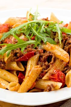 Christmas Pasta with Meat Sauce