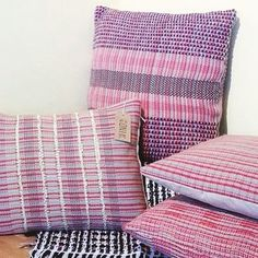 Another trader image from our Spring Market...we love these gorgeous hand woven cushions by @winditupdesigns #urbanmakerseast #eastlondon #springmarket #shoplocal #designermaker #woven #textiles #handwoven #interiors