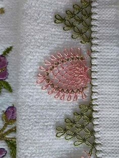 This Pin was discovered by sev Embroidery Neck Designs, Embroidery Stitches, Hand Embroidery, Needle Tatting, Needle Lace, Baby Knitting Patterns, Crochet Patterns, Handmade Crafts, Diy And Crafts