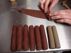 chocolate cigar rolling-for ayers b-day