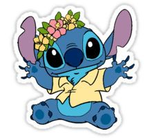 HAWAIIAN STITCH Sticker