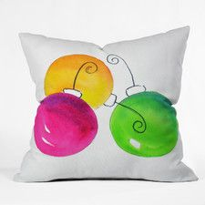 Laura Trevey Holiday Polyester Throw Pillow